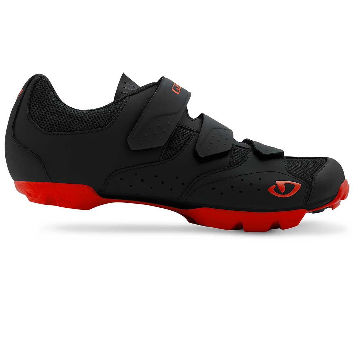Giro Carbide R II Shoe in Black and Red main view